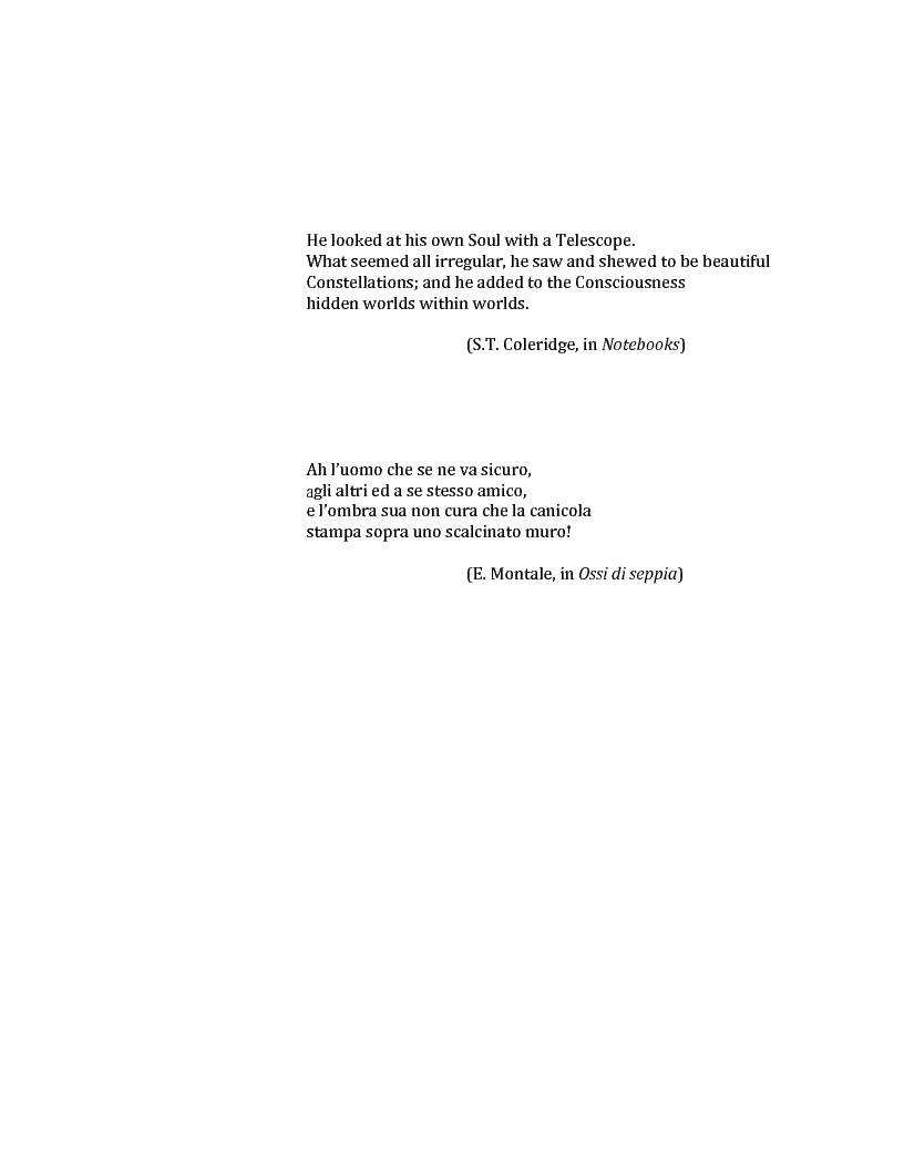 Anteprima della tesi: Le voci dell'Io. Autobiografia e automitografia nell'opera di Vittorio Alfieri, Pagina 2