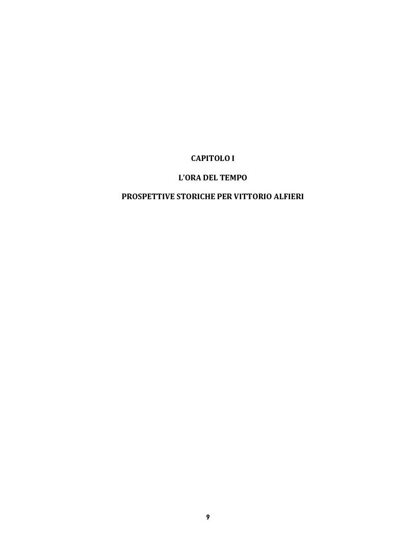 Anteprima della tesi: Le voci dell'Io. Autobiografia e automitografia nell'opera di Vittorio Alfieri, Pagina 6