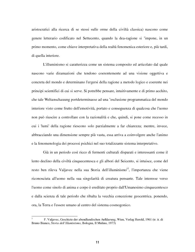 Anteprima della tesi: Le voci dell'Io. Autobiografia e automitografia nell'opera di Vittorio Alfieri, Pagina 8