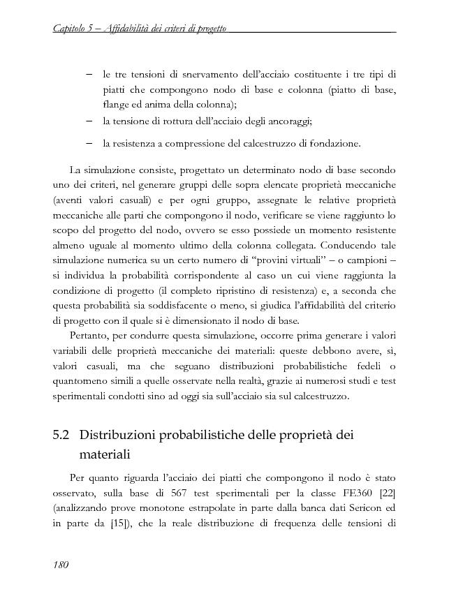 Anteprima della tesi: Influenza della variabilità dei materiali nella progettazione a completo ripristino di resistenza dei nodi di base in acciaio, Pagina 3