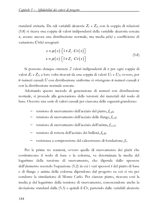 Anteprima della tesi: Influenza della variabilità dei materiali nella progettazione a completo ripristino di resistenza dei nodi di base in acciaio, Pagina 7