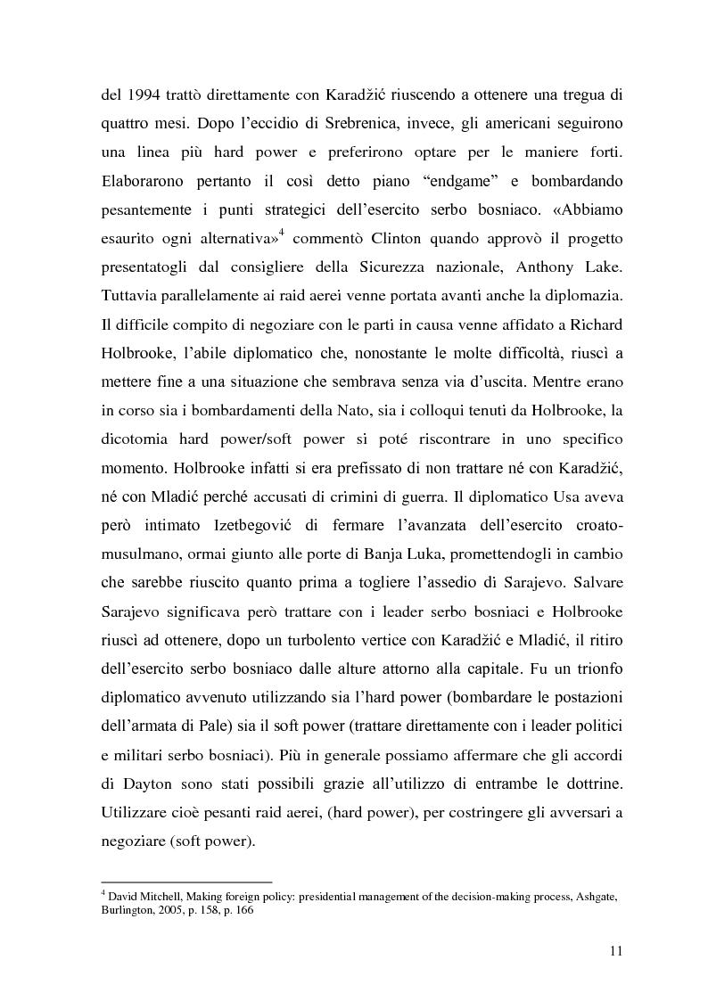 Anteprima della tesi: L'intervento statunitense in Bosnia-Erzegovina (1992-1995), Pagina 6