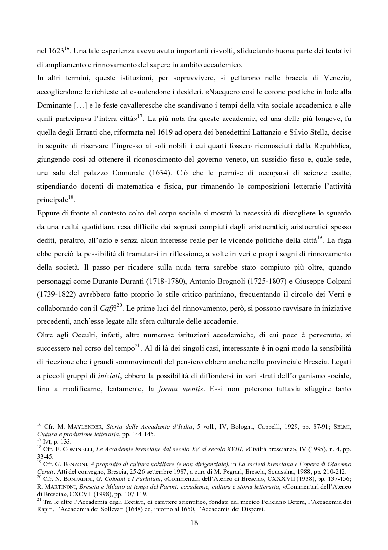 Anteprima della tesi: Erudizione e religione. Angelo Maria Querini e il respiro dell'Europa, Pagina 15