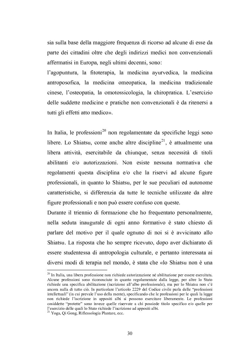 Estratto dalla tesi: Concezioni della corporeità e del benessere psicofisico: esperienze di formazione di uno shiatsuka