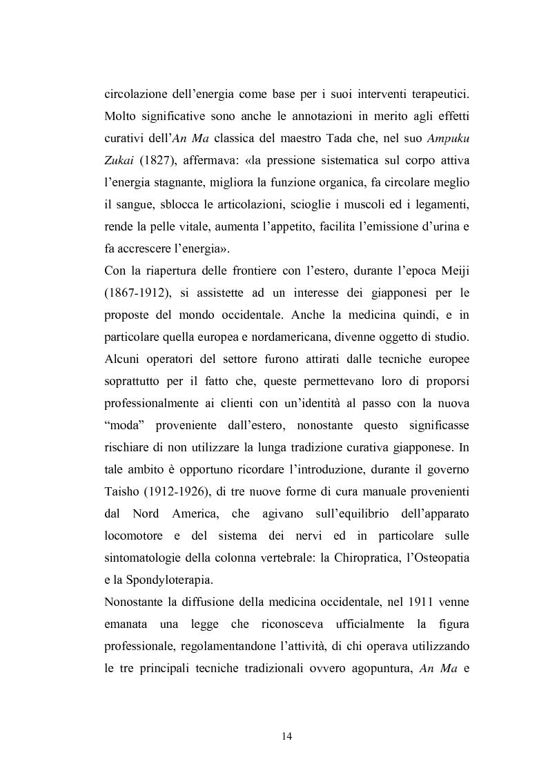 Anteprima della tesi: Concezioni della corporeità e del benessere psicofisico: esperienze di formazione di uno shiatsuka, Pagina 13