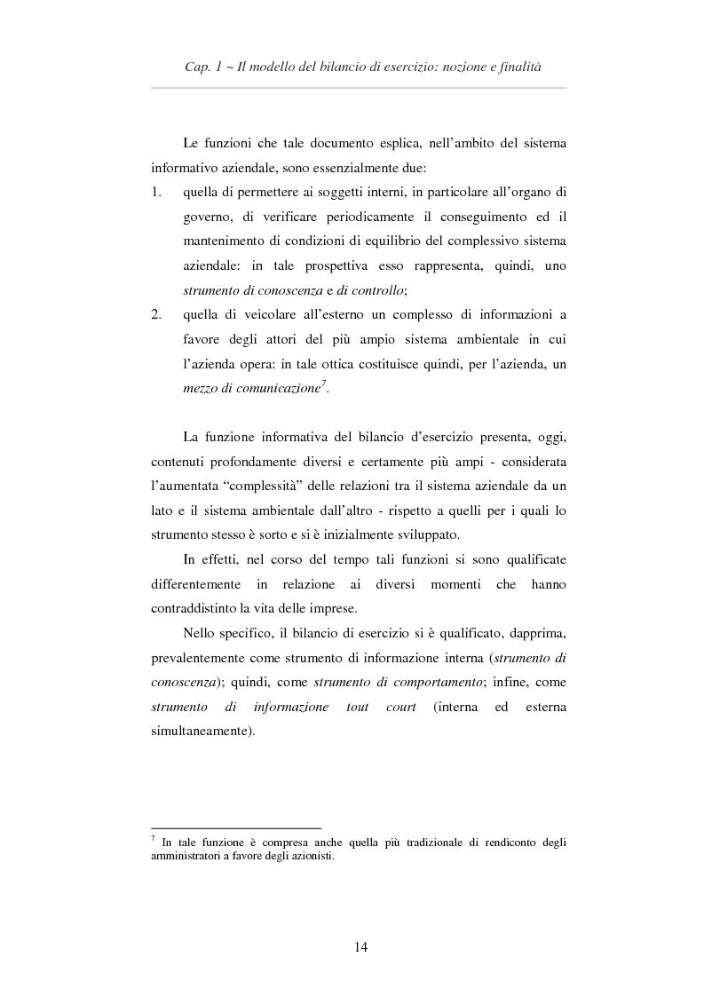 Anteprima della tesi: L'applicazione degli IAS/IFRS al bilancio di esercizio, Pagina 15
