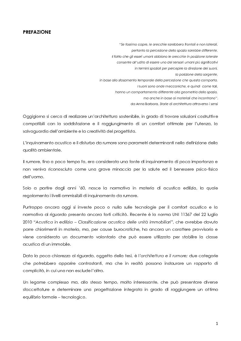 Anteprima della tesi: Architettura e rumore, Pagina 2