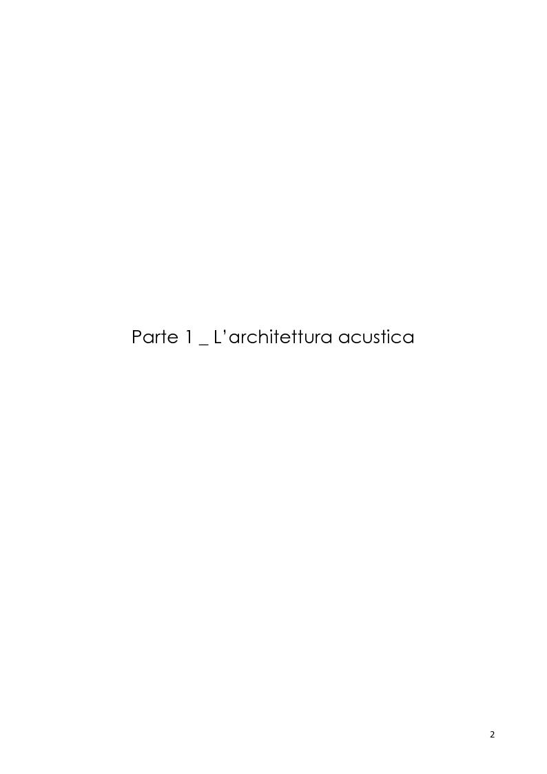 Anteprima della tesi: Architettura e rumore, Pagina 3