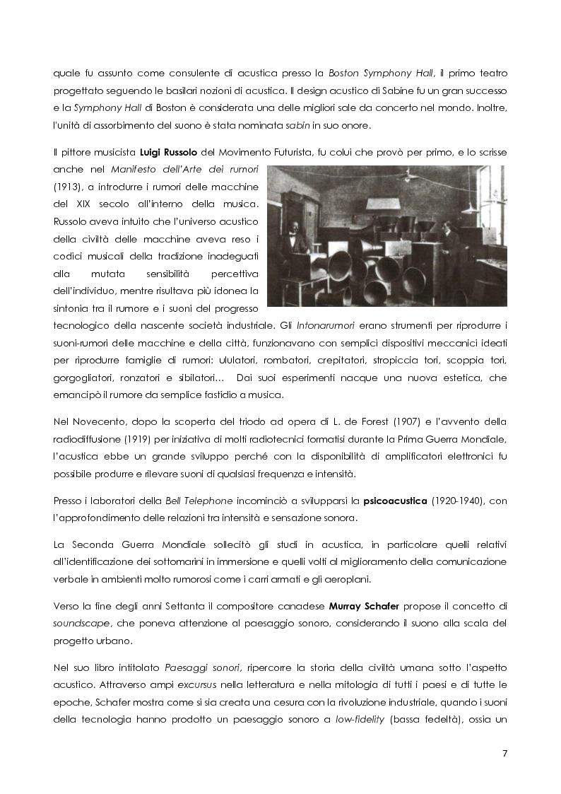 Anteprima della tesi: Architettura e rumore, Pagina 8