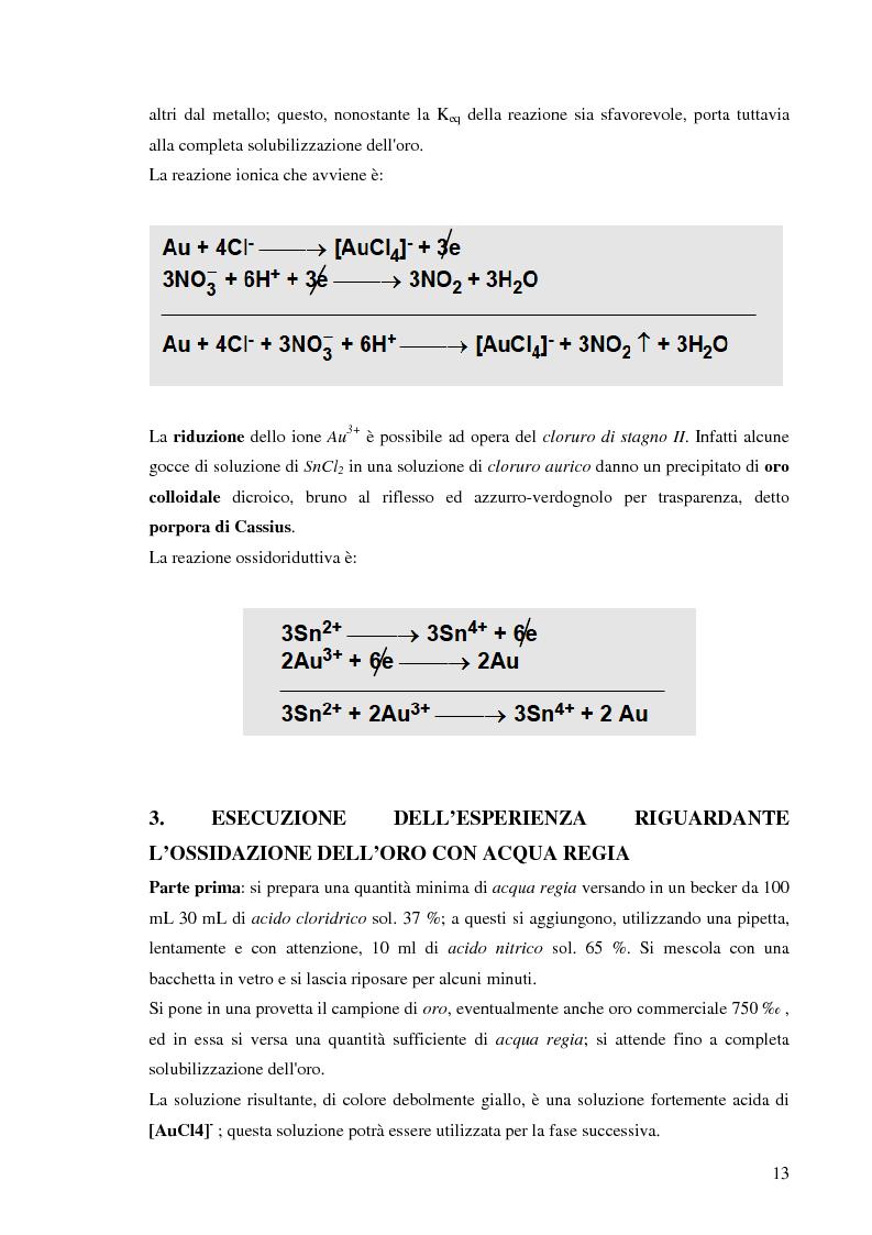 Anteprima della tesi: Processi idrometallurgici in scala di laboratorio per l'estrazione di oro da minerali (cnr roma), Pagina 14