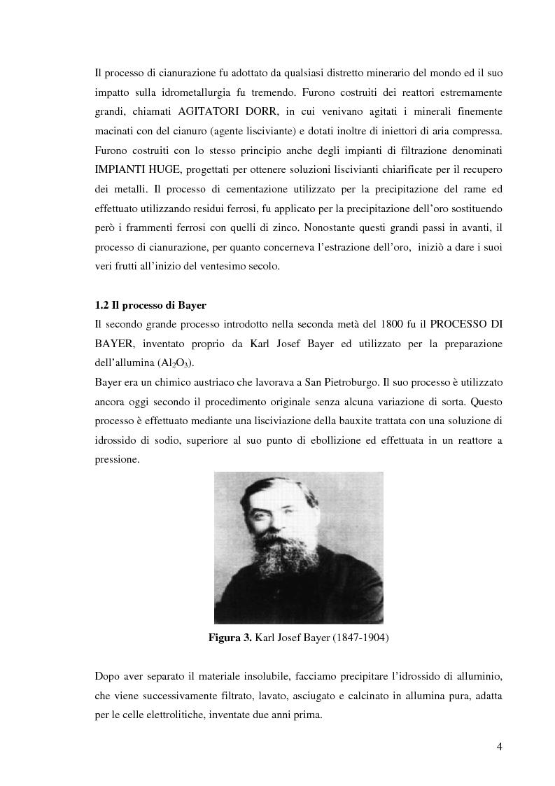 Anteprima della tesi: Processi idrometallurgici in scala di laboratorio per l'estrazione di oro da minerali (cnr roma), Pagina 5