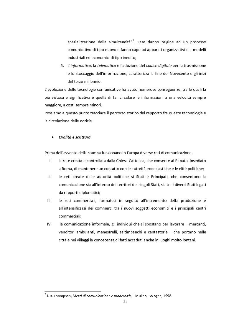 Anteprima della tesi: La libertà di stampa. Il caso di Anna Politkovskaja, Pagina 11