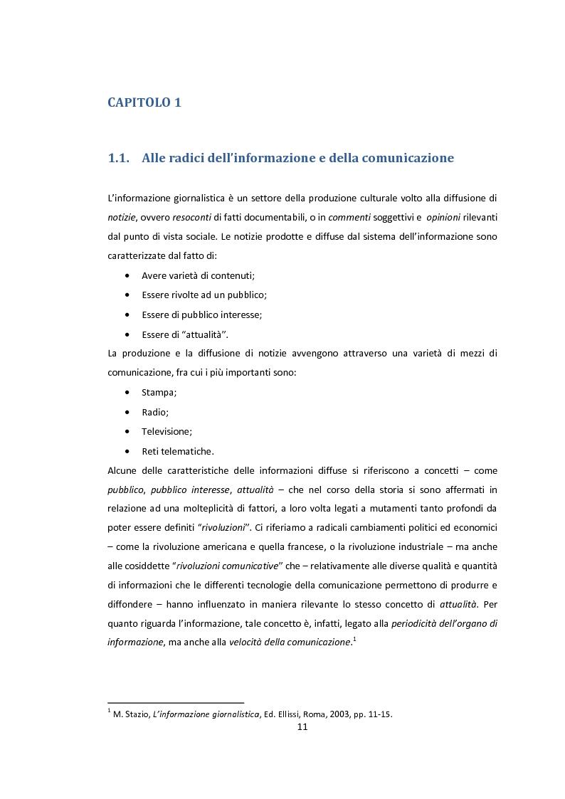 Anteprima della tesi: La libertà di stampa. Il caso di Anna Politkovskaja, Pagina 9
