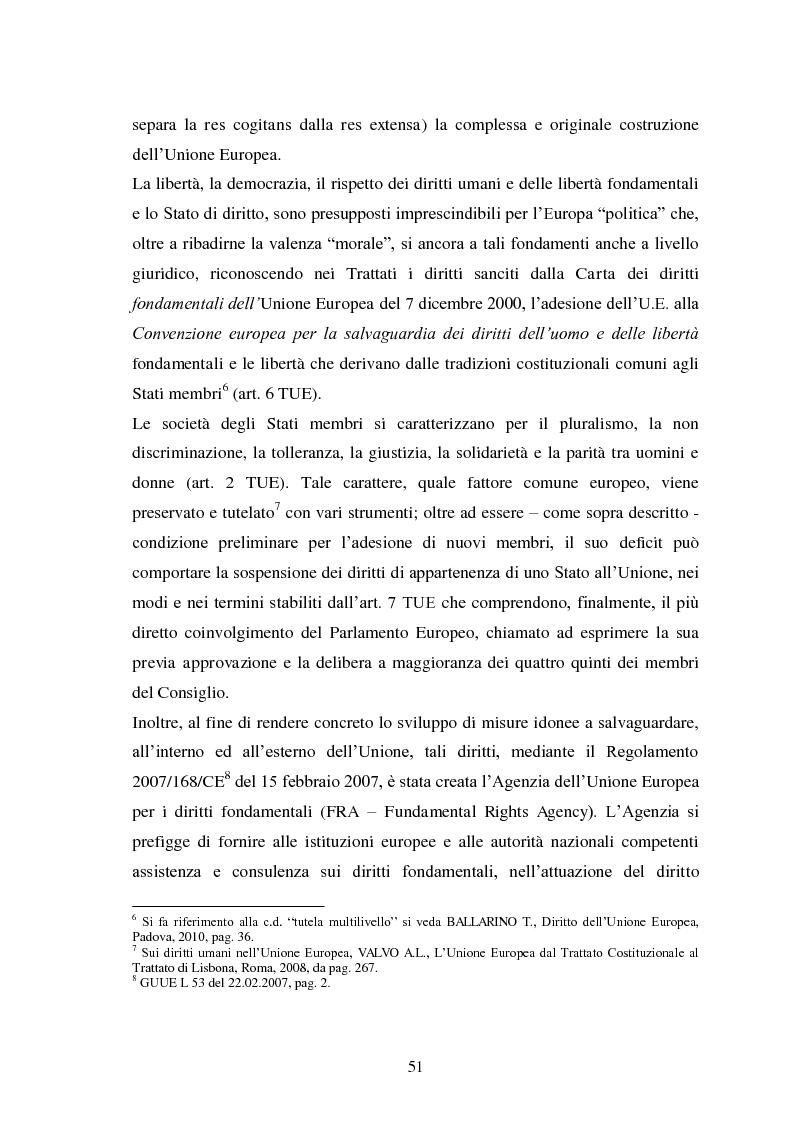 Anteprima della tesi: La Cooperazione di Polizia e Giudiziaria in materia penale - genesi, evoluzione e prospettive nell'Unione Europea, Pagina 4