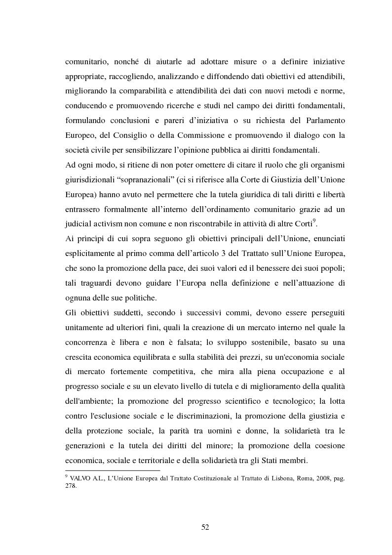 Anteprima della tesi: La Cooperazione di Polizia e Giudiziaria in materia penale - genesi, evoluzione e prospettive nell'Unione Europea, Pagina 5
