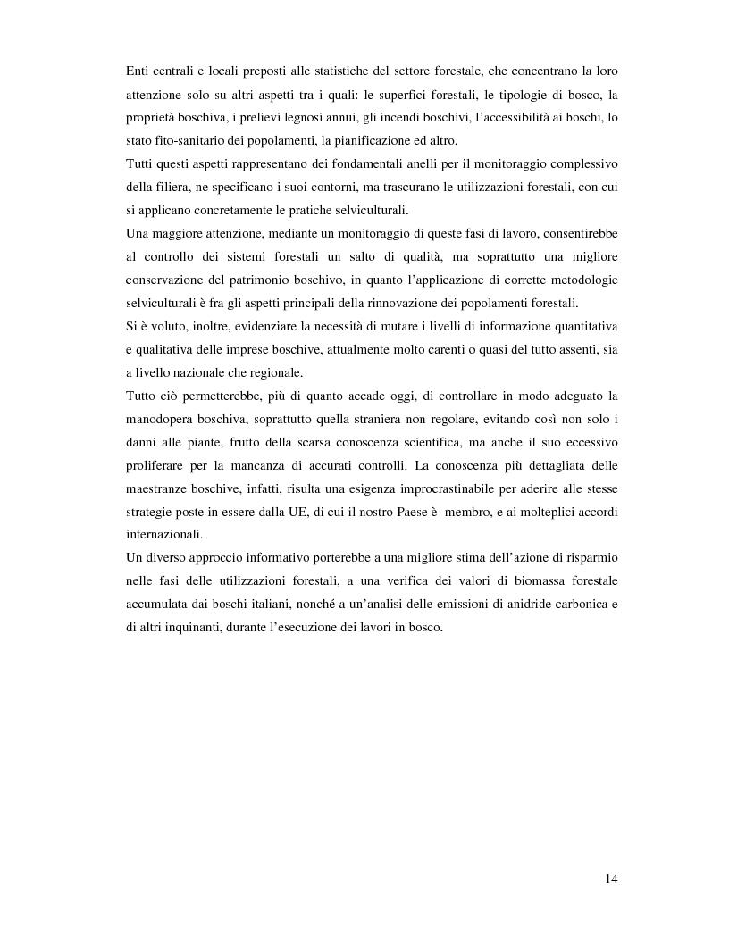 Anteprima della tesi: Confronto fra diverse tipologie di abbattimento ed esbosco in tre regioni italiane, Pagina 7