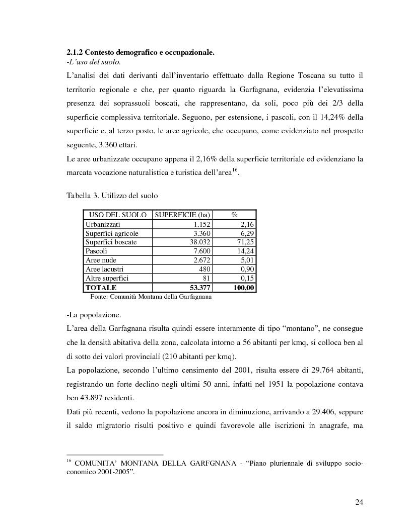 Anteprima della tesi: Il turismo rurale e la valorizzazione delle risorse caratteristiche del territorio: il caso della Garfagnana, Pagina 5