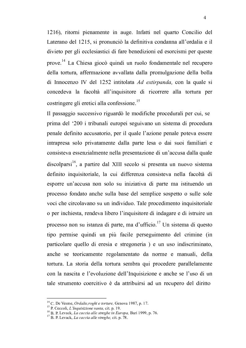 Anteprima della tesi: Ordalie, torture e supplizi capitali: il corpo sotto accusa nell'Europa medievale, Pagina 5