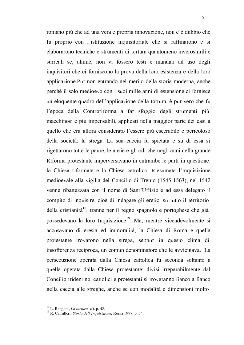 Anteprima della tesi: Ordalie, torture e supplizi capitali: il corpo sotto accusa nell'Europa medievale, Pagina 6