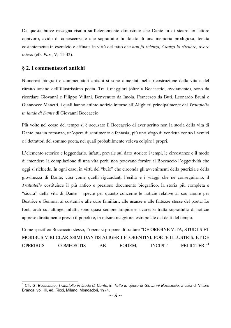 Anteprima della tesi: La superbia in Dante: intimo conflitto tra desiderio di gloria e consapevolezza della sua vanità, Pagina 6