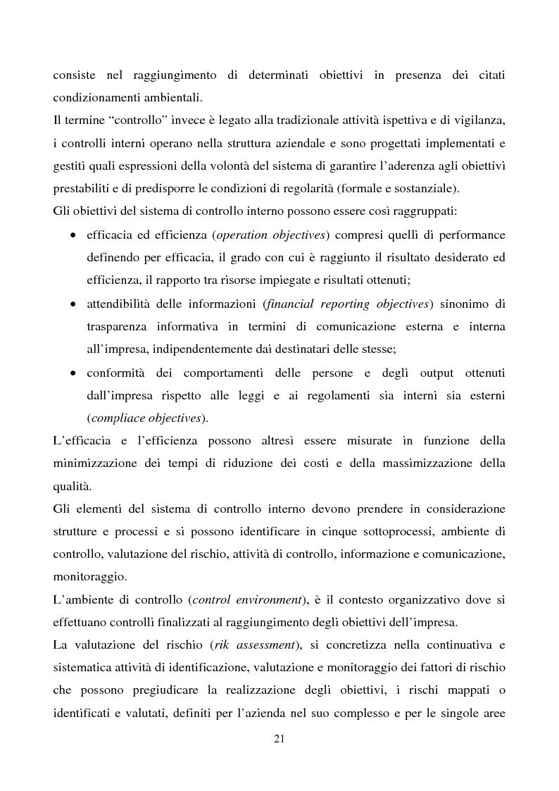 Anteprima della tesi: La funzione dell'Internal Auditing nell'Agenzia del Territorio, Pagina 3