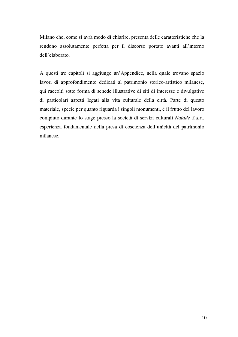 Anteprima della tesi: Il marketing dei beni culturali tra territorio e nuove tecnologie, Pagina 6