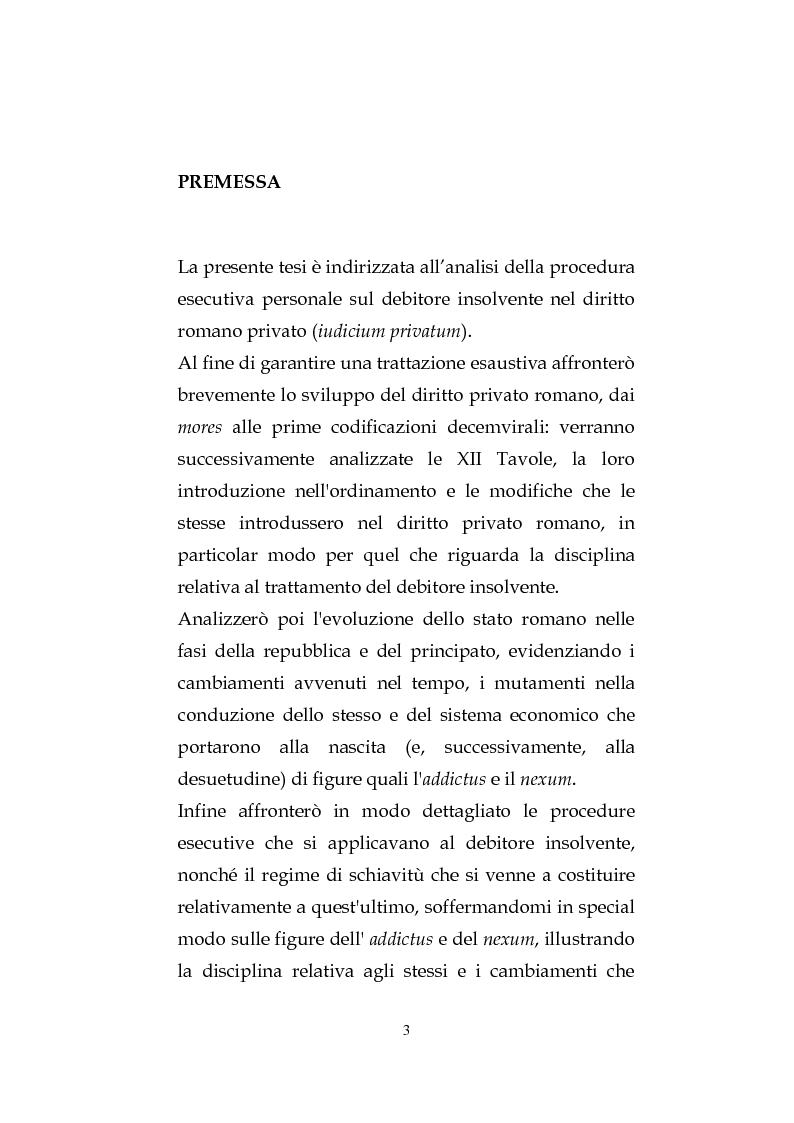 Anteprima della tesi: La procedura esecutiva personale sul debitore insolvente, Pagina 2