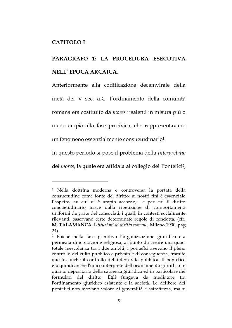 Anteprima della tesi: La procedura esecutiva personale sul debitore insolvente, Pagina 4