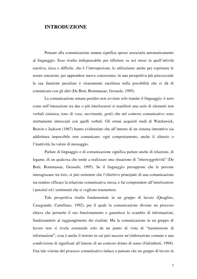 Anteprima della tesi: La comunicazione nelle imprese sociali: il progetto di una newsletter, Pagina 2