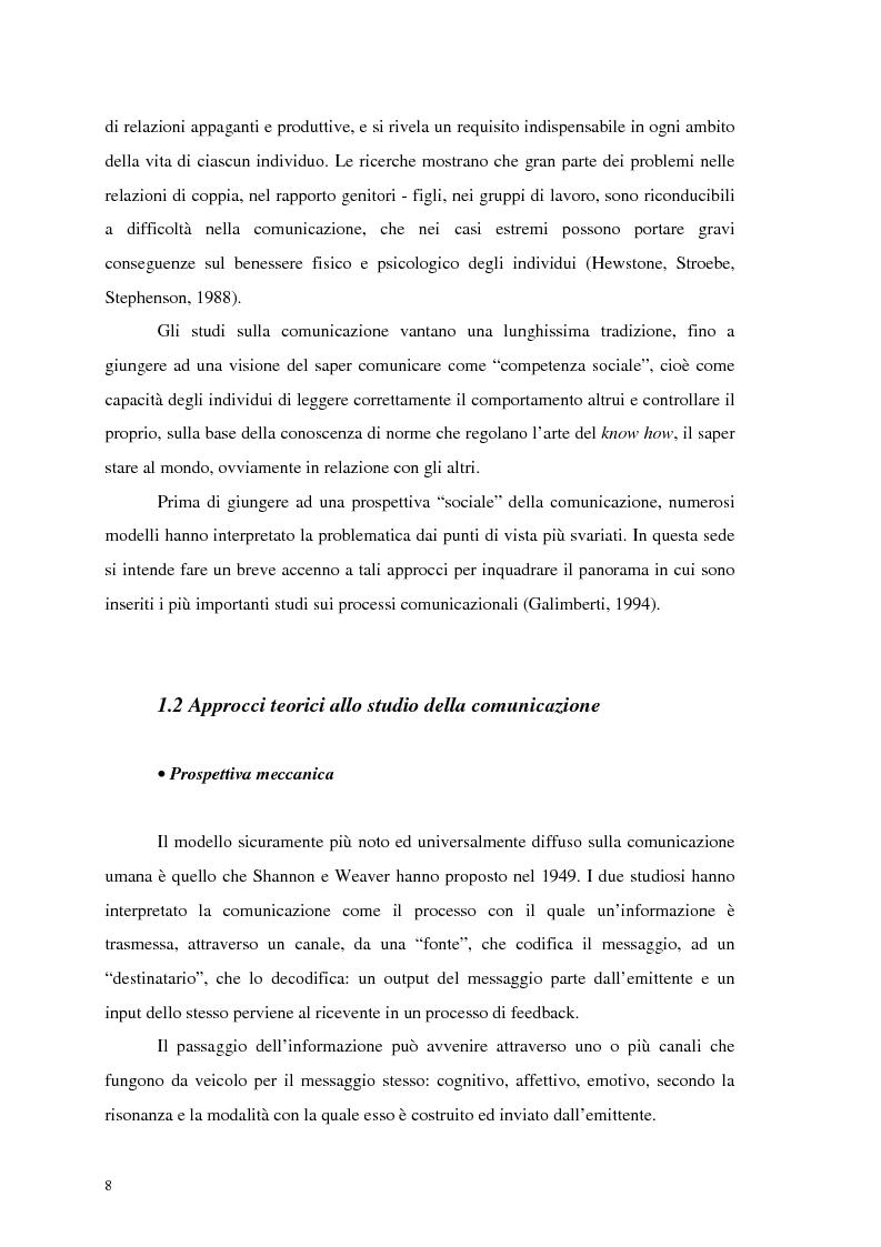 Anteprima della tesi: La comunicazione nelle imprese sociali: il progetto di una newsletter, Pagina 6
