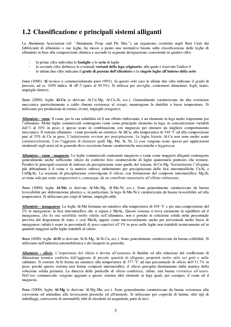 Anteprima della tesi: Comportamento ad impatto di una lamiera in lega di alluminio, Pagina 5