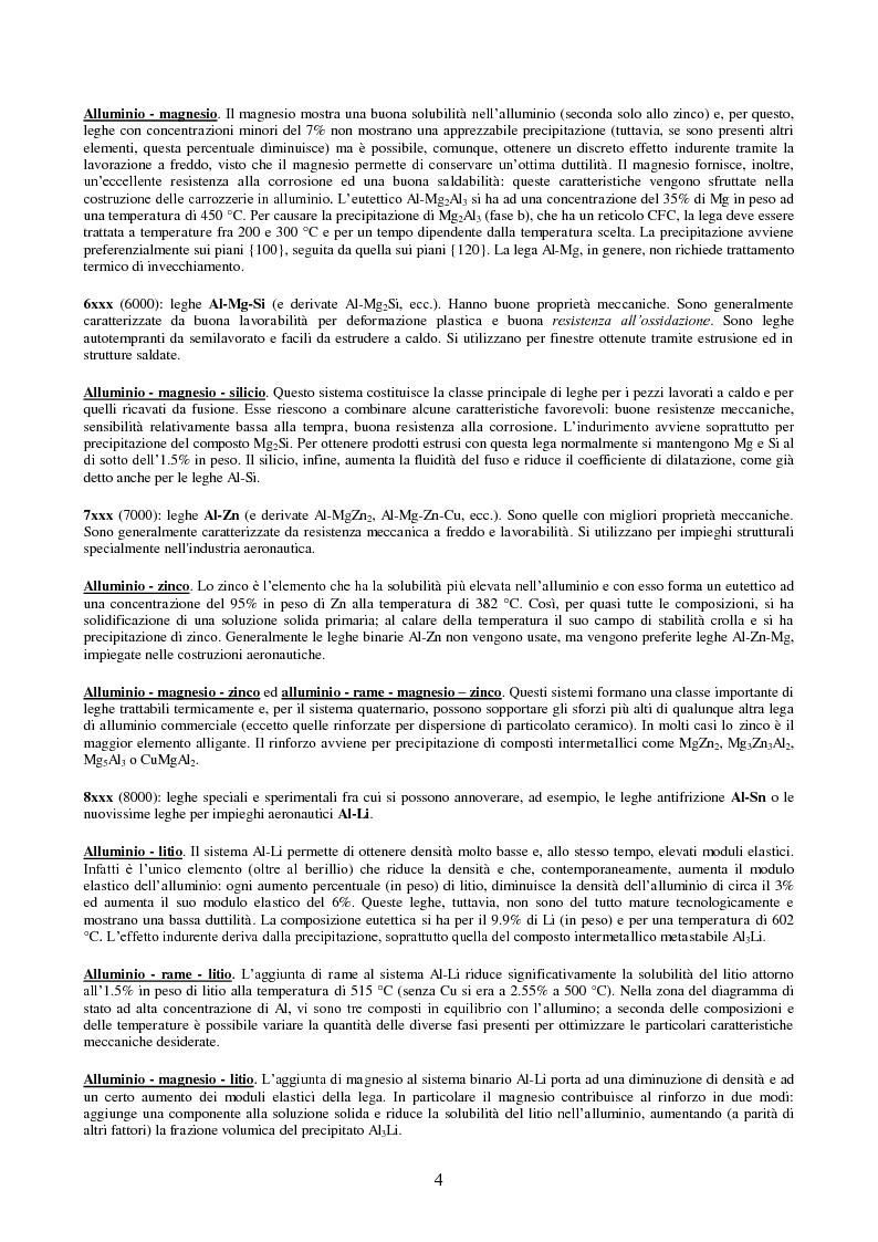 Anteprima della tesi: Comportamento ad impatto di una lamiera in lega di alluminio, Pagina 6