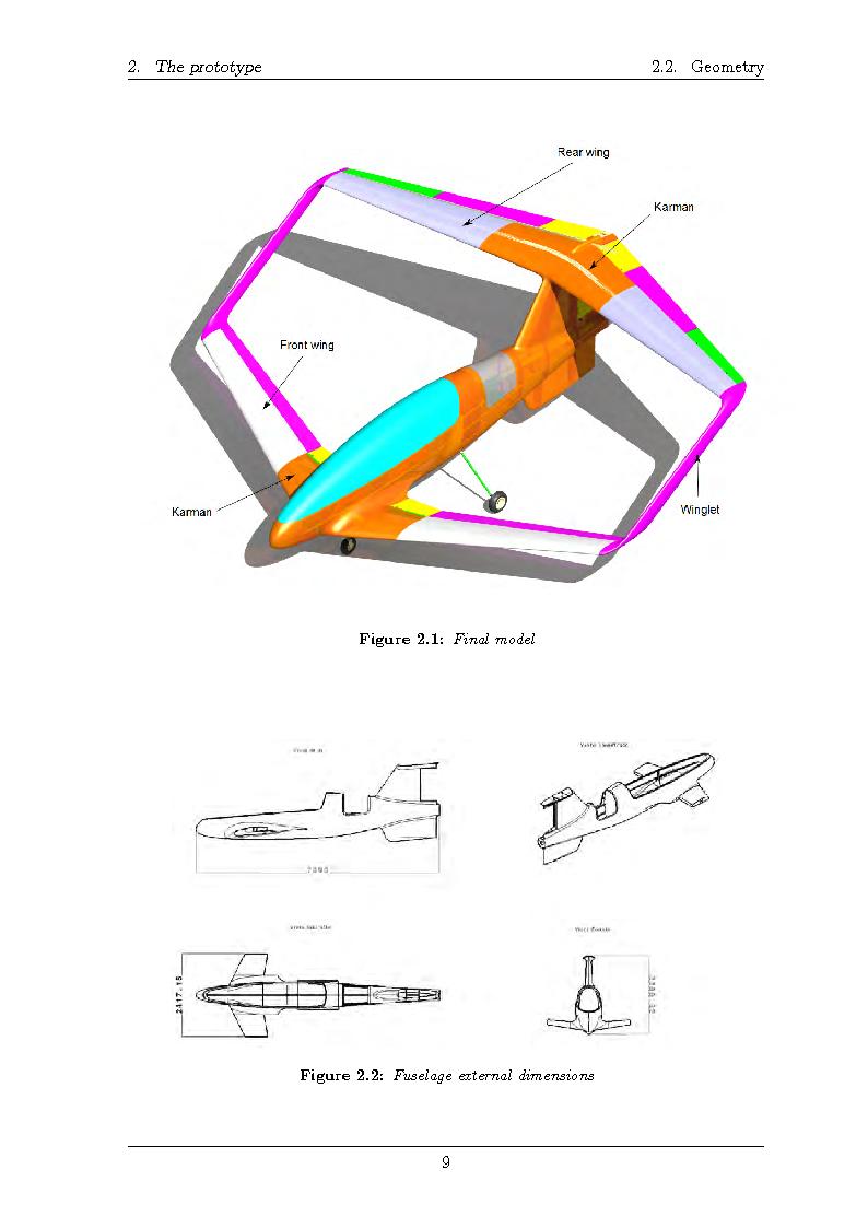Anteprima della tesi: Structural design of a ULM PrandtlPlane wing system, Pagina 10