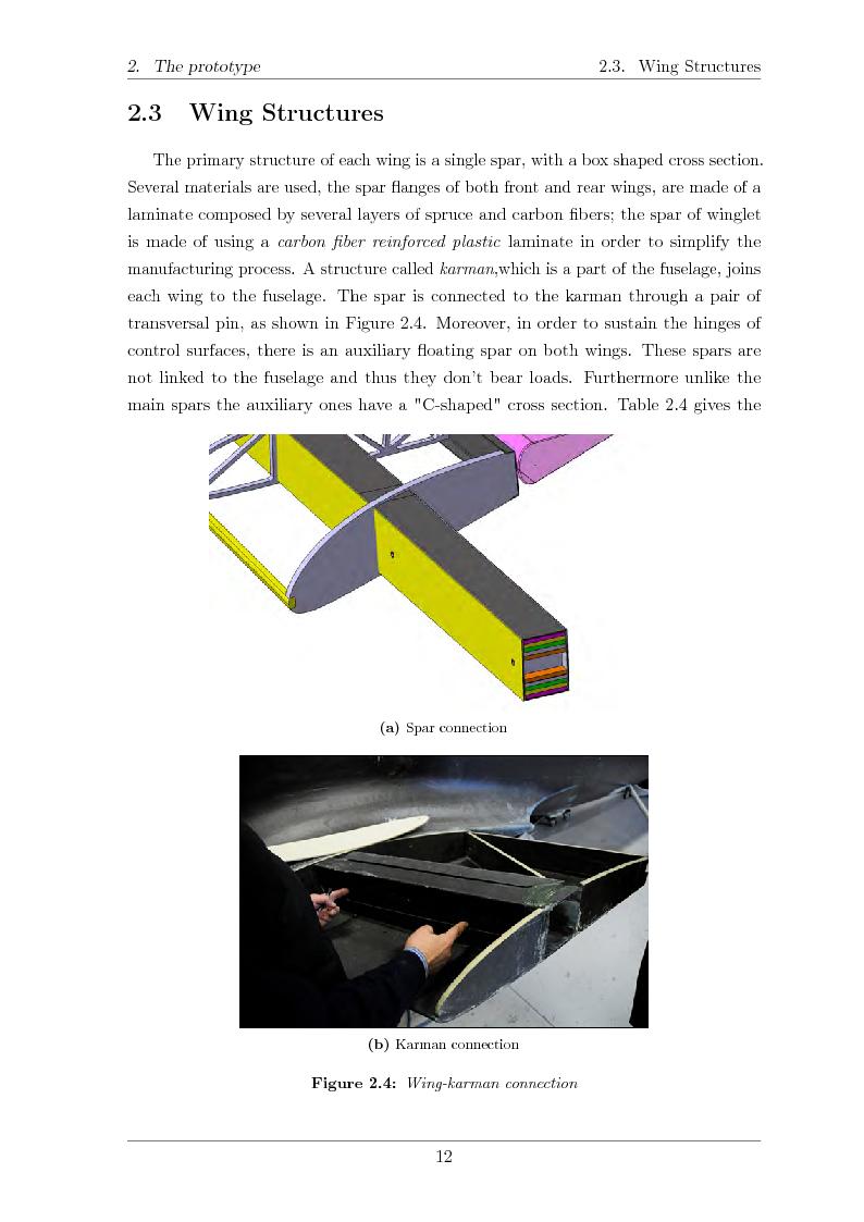Anteprima della tesi: Structural design of a ULM PrandtlPlane wing system, Pagina 13