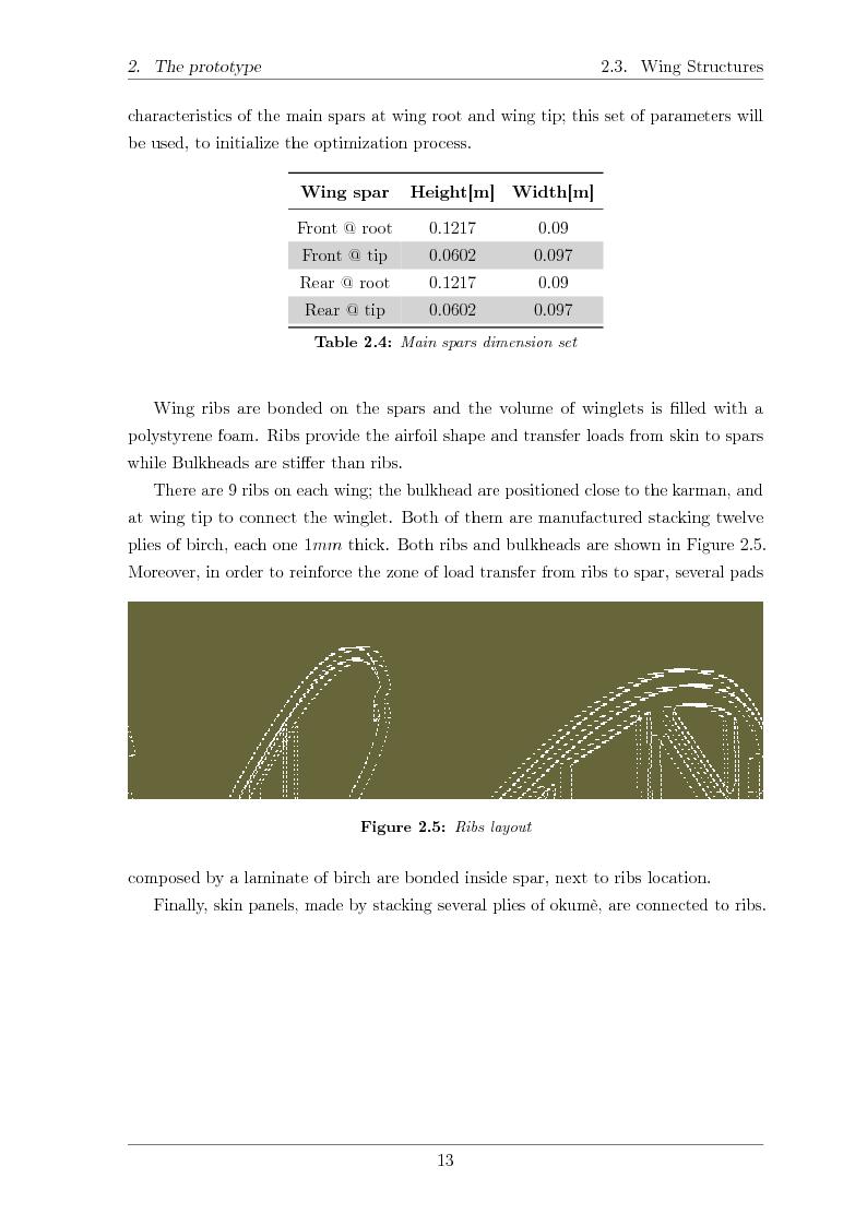 Anteprima della tesi: Structural design of a ULM PrandtlPlane wing system, Pagina 14
