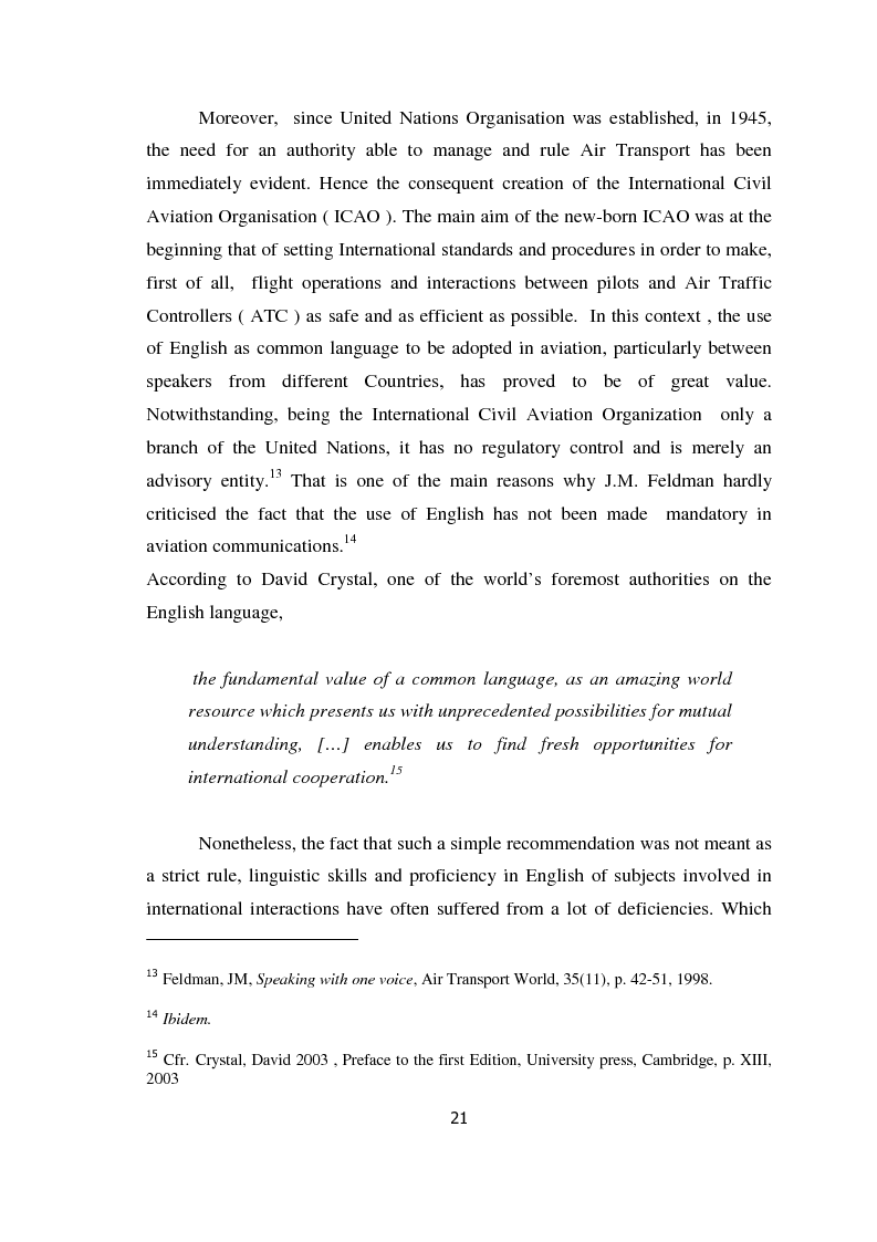 Anteprima della tesi: AIRSPEAK - The Importance of Effective Communication in Flight Safety, Pagina 11