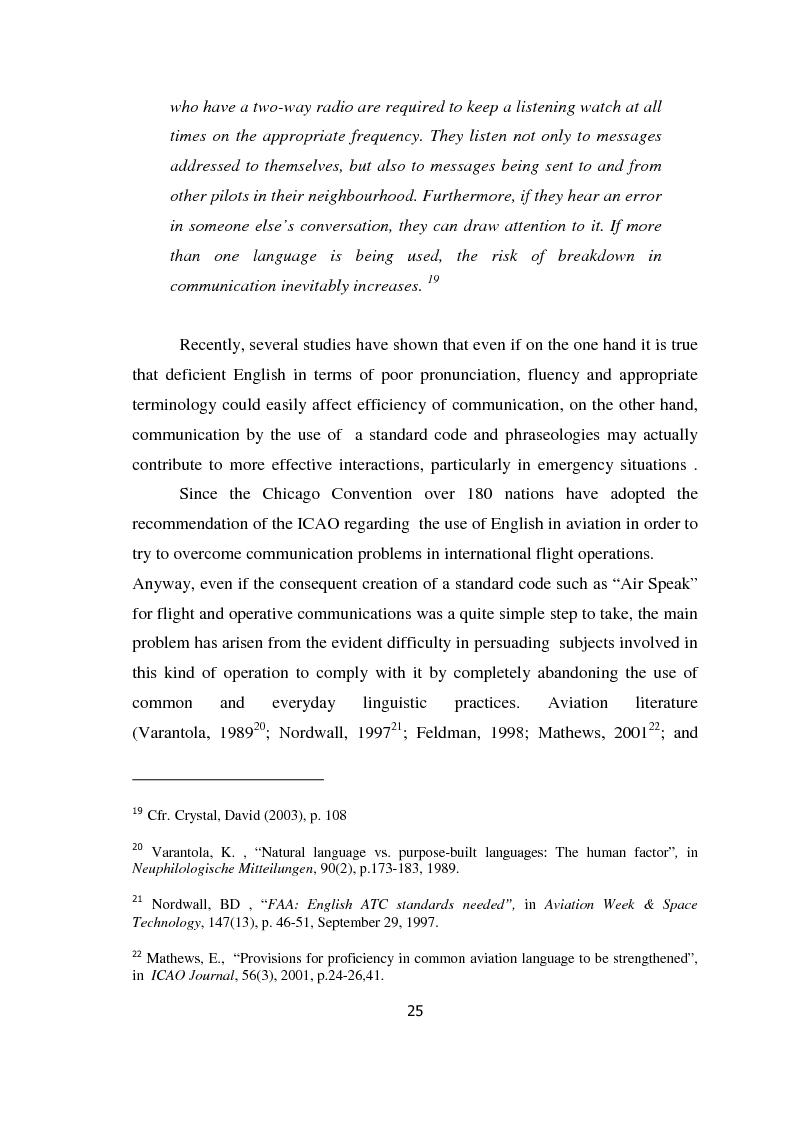 Anteprima della tesi: AIRSPEAK - The Importance of Effective Communication in Flight Safety, Pagina 15