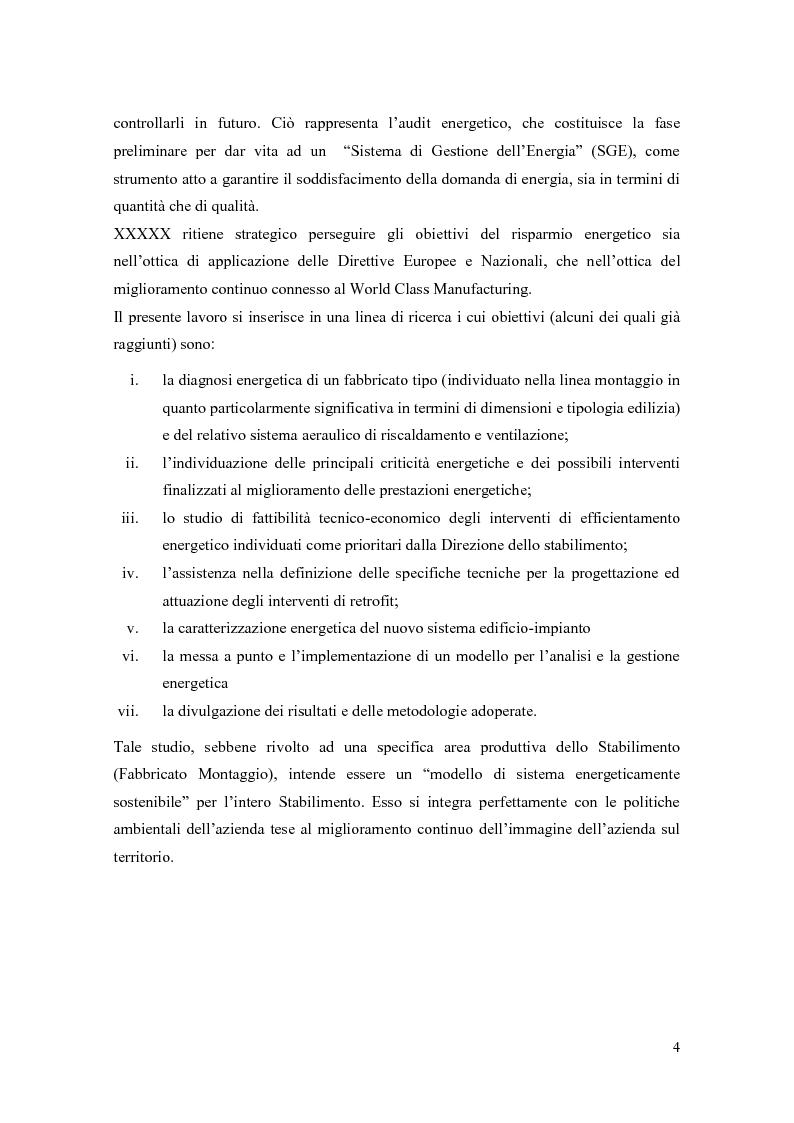 Anteprima della tesi: Progettazione di un sistema di acquisizione dati e messa a punto di un software per il monitoraggio dei consumi energetici XXXXXXX S.P.A., Pagina 4