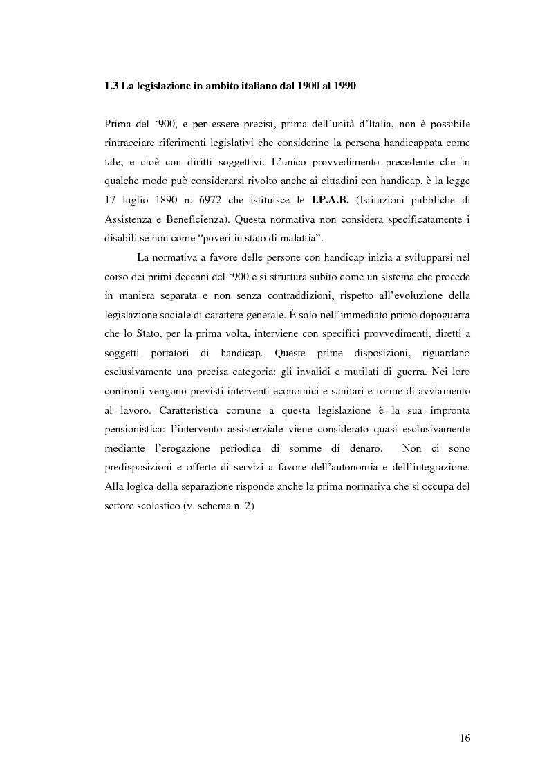 Anteprima della tesi: Biblioteca senza barriere: accessibilità per il disabile, Pagina 12
