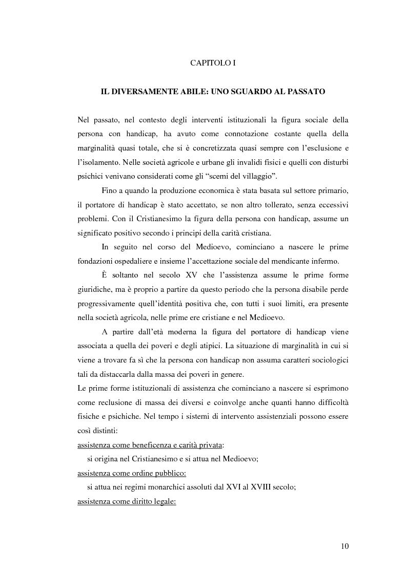 Anteprima della tesi: Biblioteca senza barriere: accessibilità per il disabile, Pagina 6