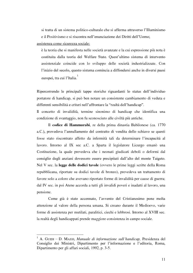 Anteprima della tesi: Biblioteca senza barriere: accessibilità per il disabile, Pagina 7