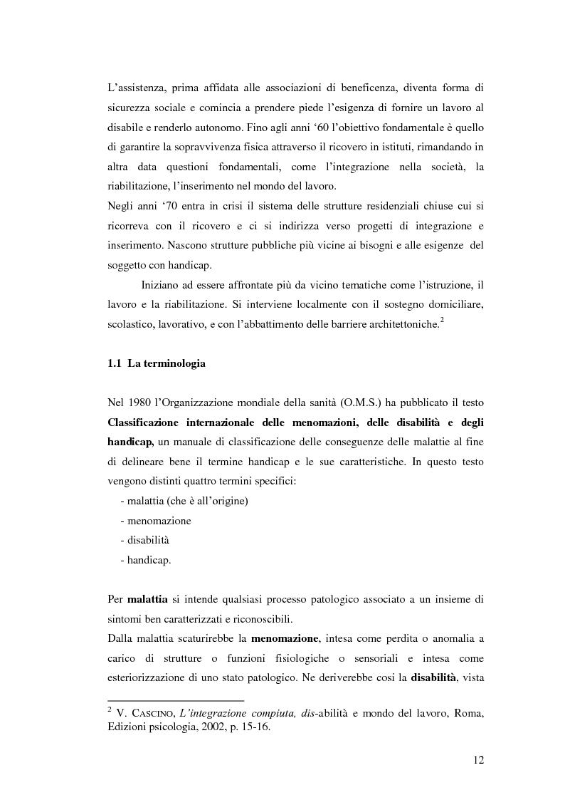 Anteprima della tesi: Biblioteca senza barriere: accessibilità per il disabile, Pagina 8