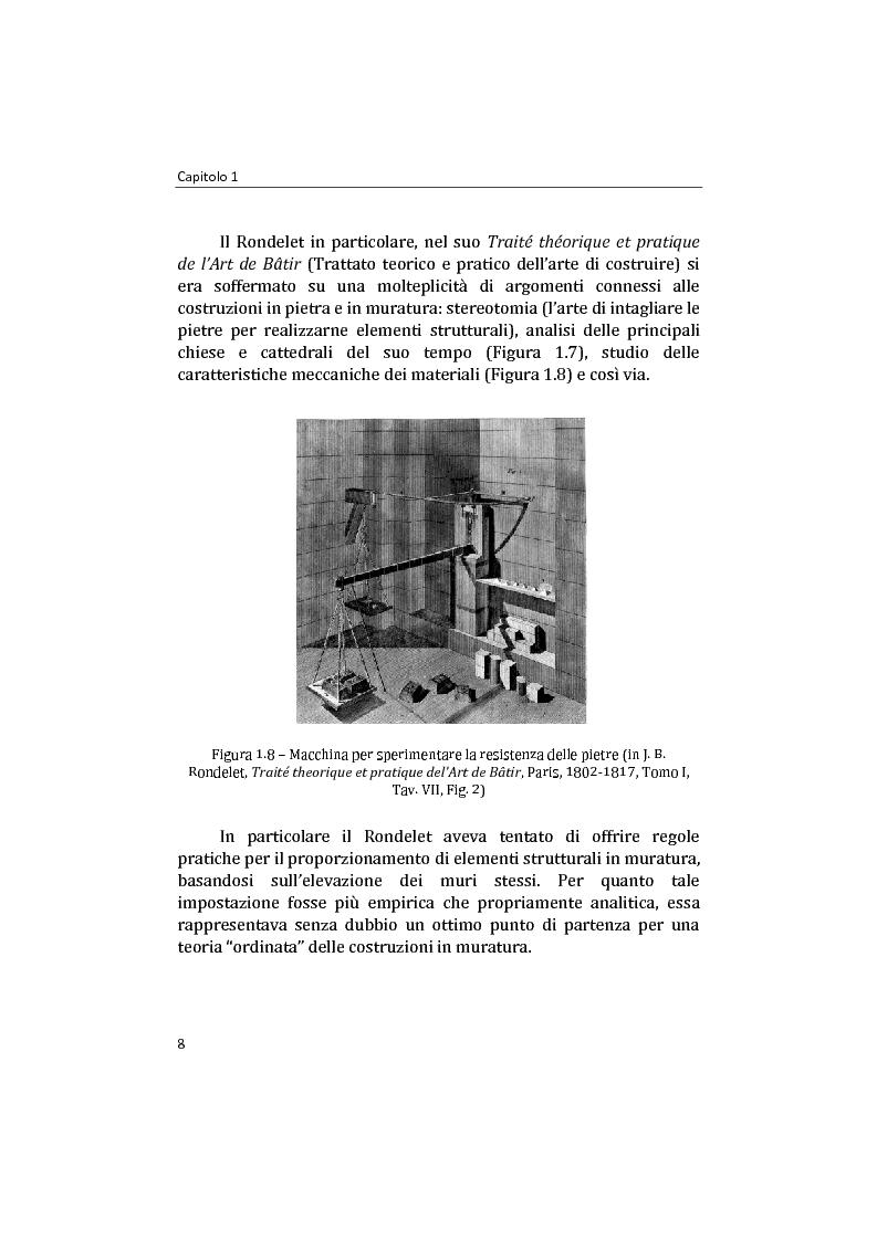 Anteprima della tesi: Analisi non lineare di pareti murarie sotto azioni orizzontali: modellazione a telaio Equivalente, Pagina 9