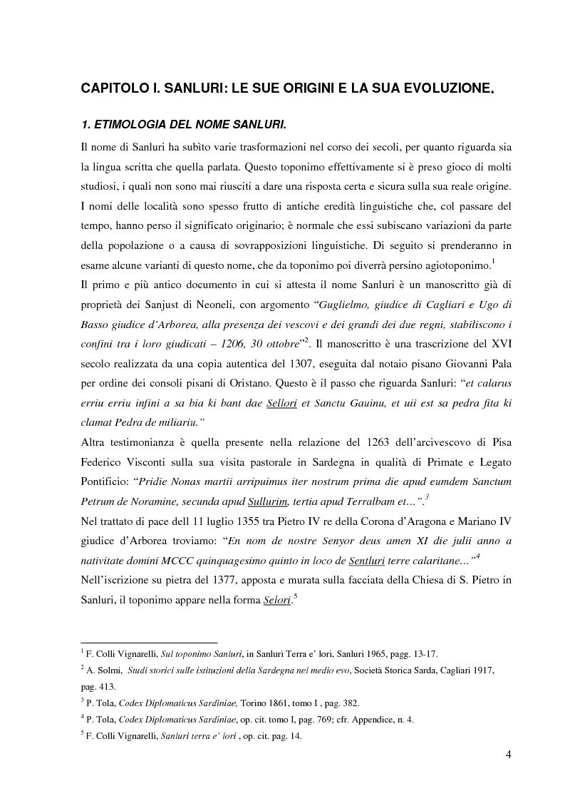 Anteprima della tesi: Dalla pace alla battaglia di Sanluri (1355-1409). Fonti documentarie e cronachistiche, Pagina 3