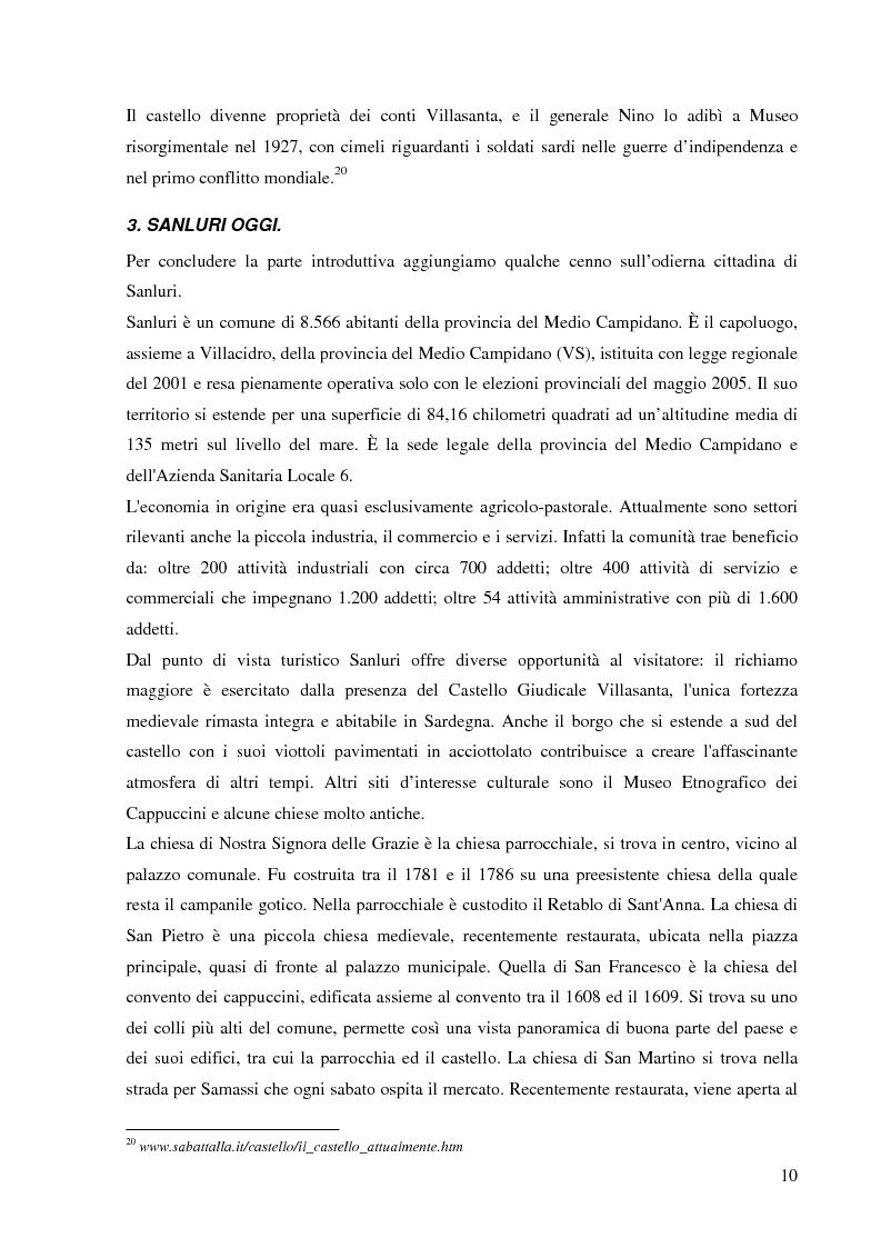 Anteprima della tesi: Dalla pace alla battaglia di Sanluri (1355-1409). Fonti documentarie e cronachistiche, Pagina 9