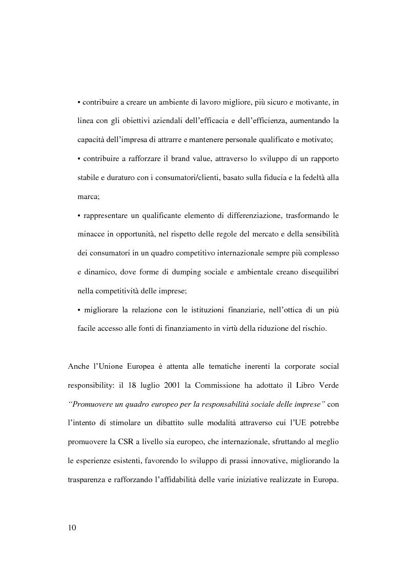 Anteprima della tesi: Sostenibilità e grande distribuzione organizzata: quali possibili prospettive?, Pagina 11