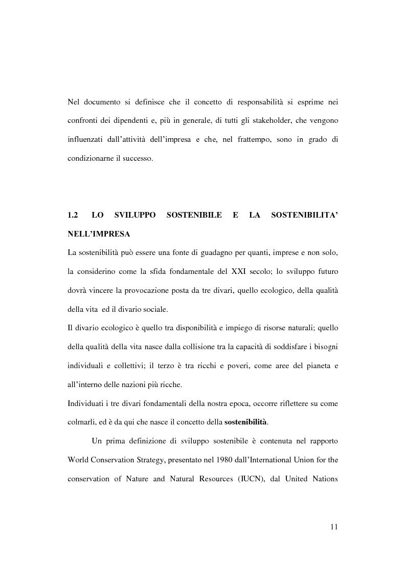 Anteprima della tesi: Sostenibilità e grande distribuzione organizzata: quali possibili prospettive?, Pagina 12