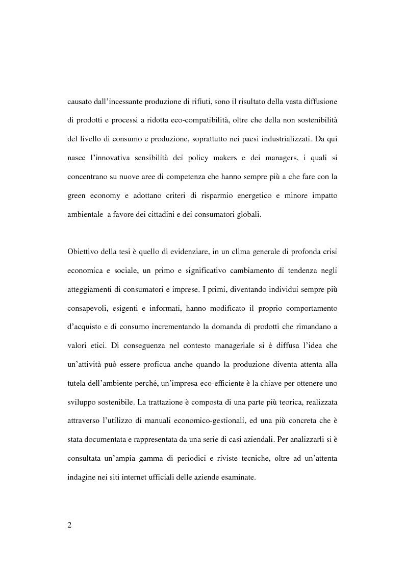 Anteprima della tesi: Sostenibilità e grande distribuzione organizzata: quali possibili prospettive?, Pagina 3