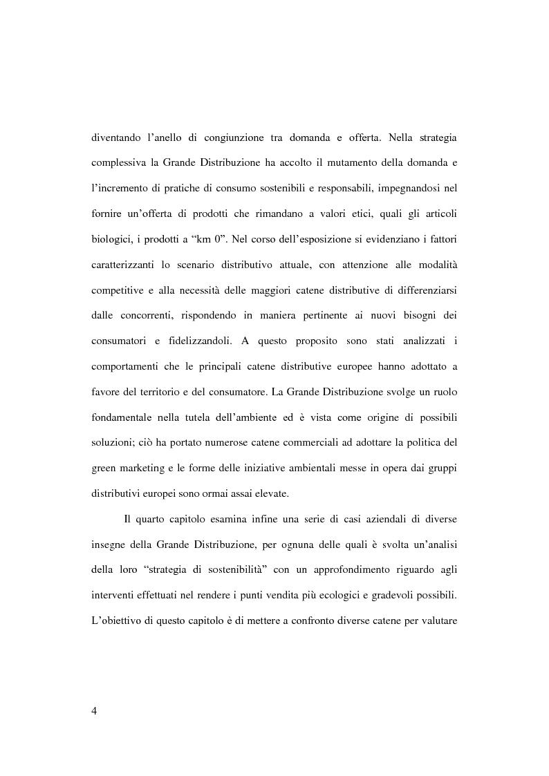 Anteprima della tesi: Sostenibilità e grande distribuzione organizzata: quali possibili prospettive?, Pagina 5