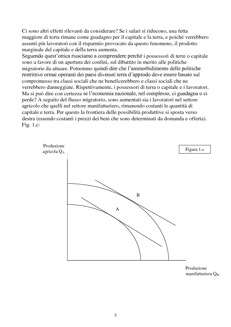 Anteprima della tesi: Immigrazione e commercio internazionale: teoria ed evidenza sul caso italiano, Pagina 5
